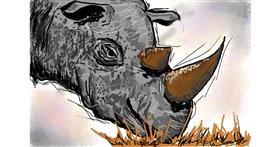 Rhino drawing by Josegreas