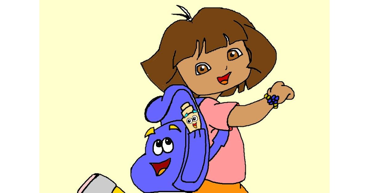 Drawing of Backpack by InessaC
