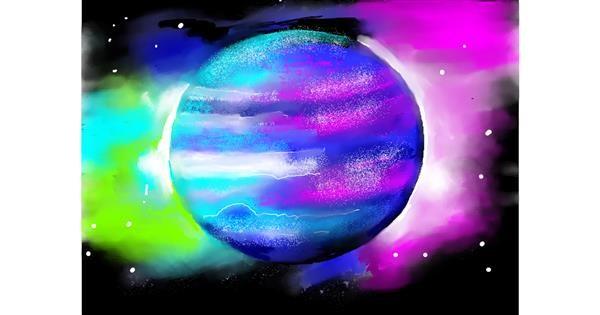 Planet drawing by SAM 🙄AKA Margaret