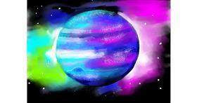 Planet drawing by SAM AKA MARGARET 🙄