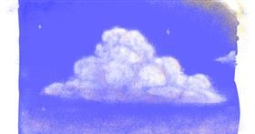 Cloud drawing by Neuralgia