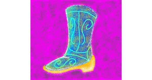Boots drawing by Godzilla