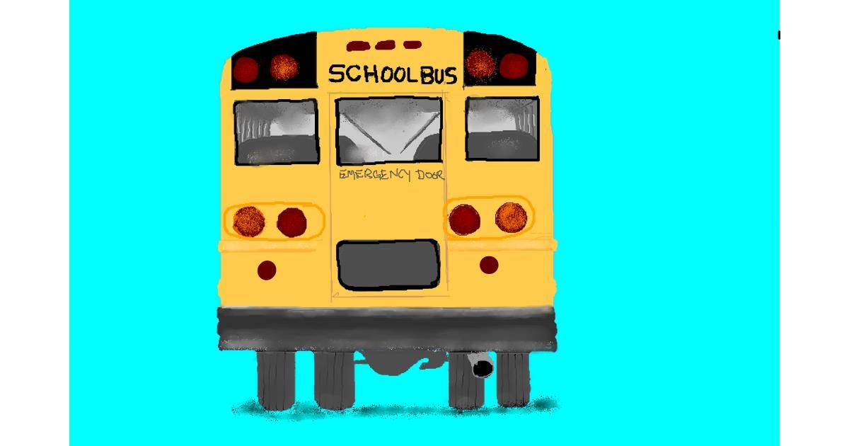 Bus drawing by GJP