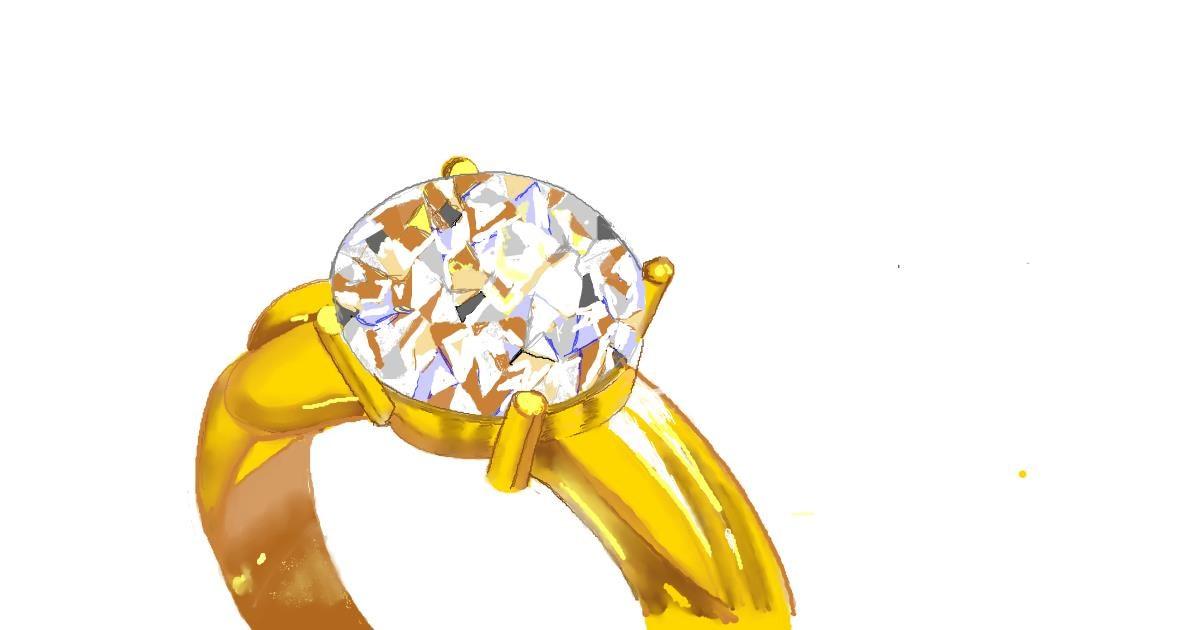 Drawing of Diamond by GJP