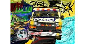 Ambulance drawing by 𝐓𝐎𝐏𝑅𝑂𝐴𝐶𝐻™