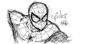 Drawing of Spider by mikasa ackerman