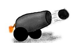 Cannon drawing by jman<3 julian