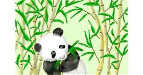 Bamboo drawing by Debidolittle