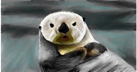 Drawing of Otter by Soaring Sunshine