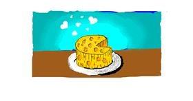 Cheese drawing by ARTnas aira