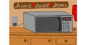 Microwave drawing by TaraEcho