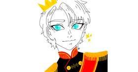 Drawing of Prince by Kuro