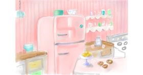 Drawing of Refrigerator by chelanoodle