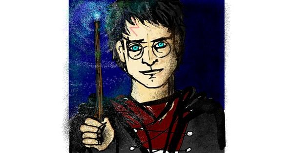 Harry Potter drawing by SIREN