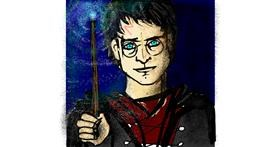 Drawing of Harry Potter by SIREN