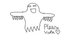 Ghost drawing by Dandé Nugget