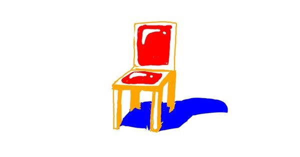 Chair drawing by karma
