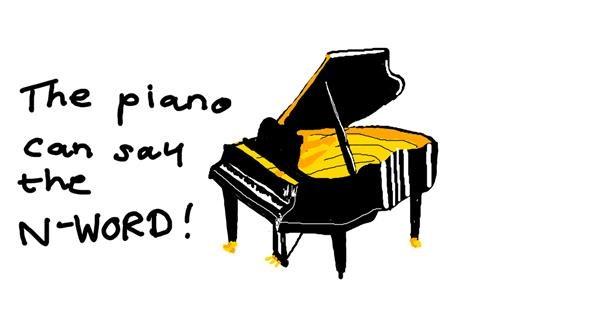 Piano drawing by yeet