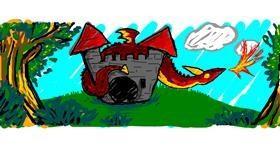 Drawing of Castle by Nan