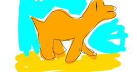 Camel drawing by That One Llama