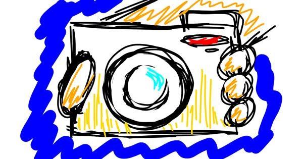 Camera drawing by That One Llama