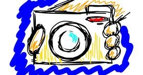 Drawing of Camera by That One Llama