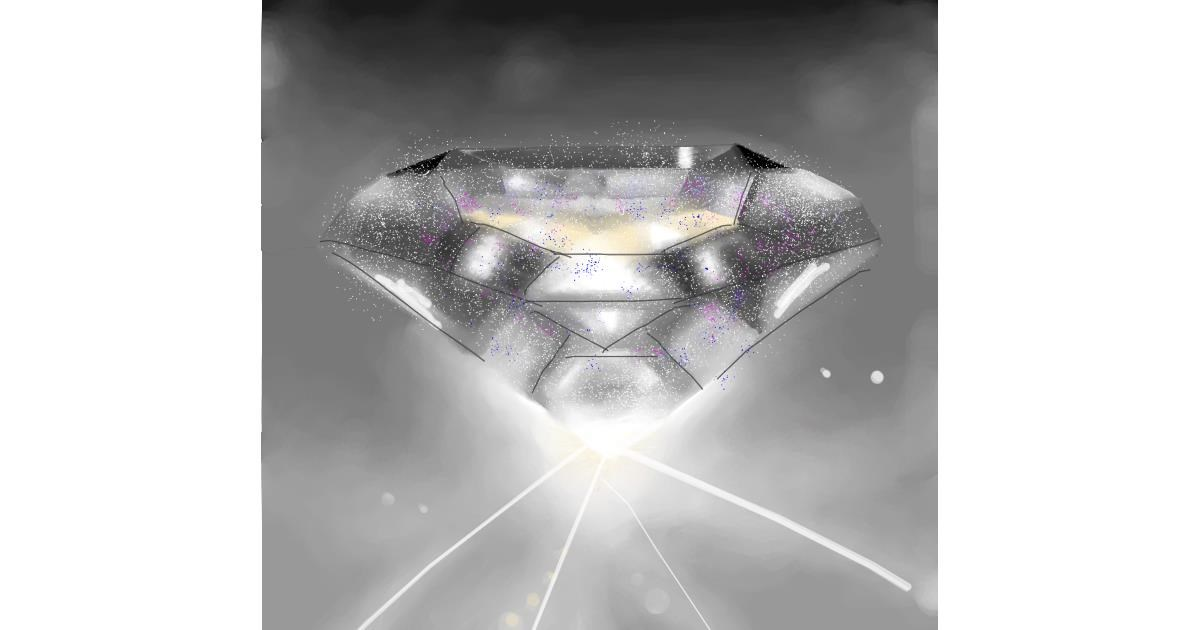 Diamond drawing by 🇭🇰 Acem Lam