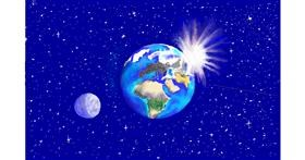 Planet drawing by GJP
