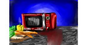 Microwave drawing by Soaring Sunshine