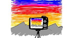 Drawing of Camera by Otter