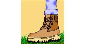 Boots drawing by jjman