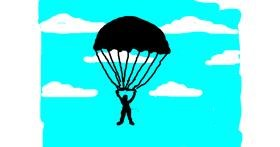 Parachute drawing by Anonymous