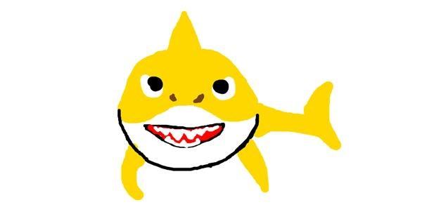 Shark drawing by lol