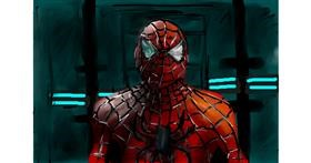 Spiderman drawing by Soaring Sunshine