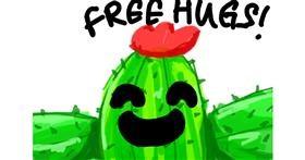 Cactus drawing by blah