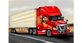 Drawing of Truck by RadiouChka