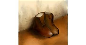 Boots drawing by Nor&Ena