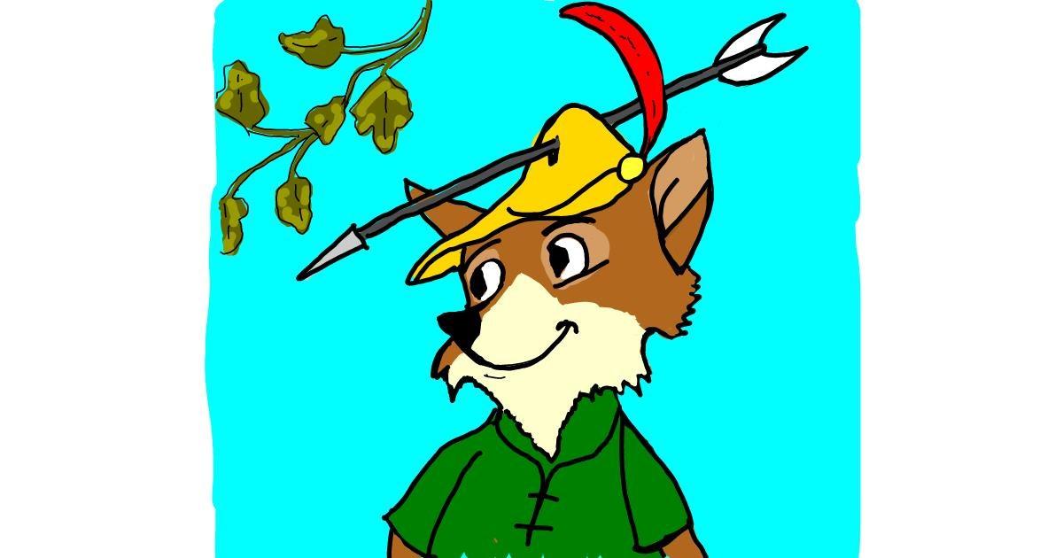 Fox drawing by BRIDALIO🍌