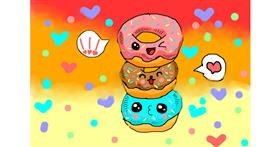 Donut drawing by Noe