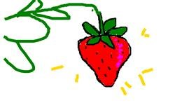 Strawberry drawing by Anonymous