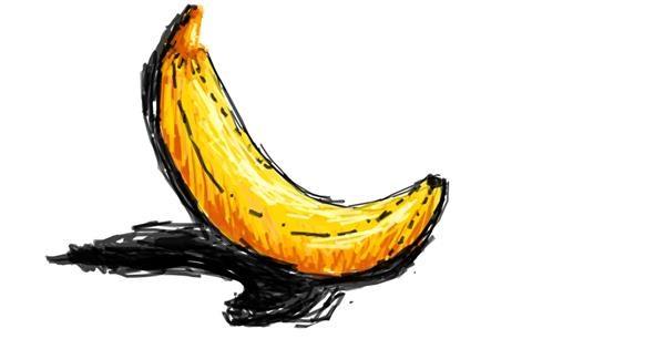 Banana drawing by stalin