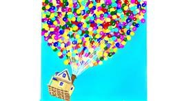 Balloon drawing by GJP