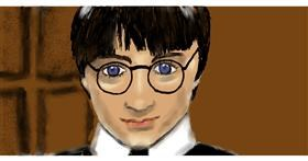 Drawing of Harry Potter by SAM AKA MARGARET 🙄