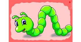 Drawing of Caterpillar by InessaC