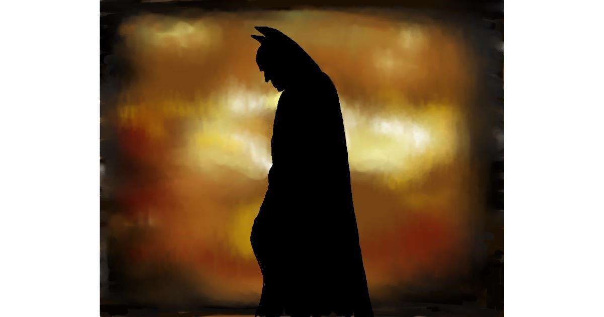 Batman drawing by Cec