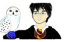 Drawing of Harry Potter by S.Elizabeth