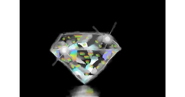 Diamond drawing by Soaring Sunshine