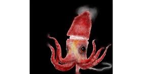 Squid drawing by Bumblebee