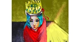 Drawing of Crown by archete_art