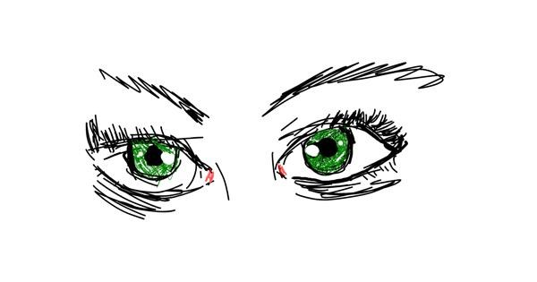 Eyes drawing by Pizza🍕